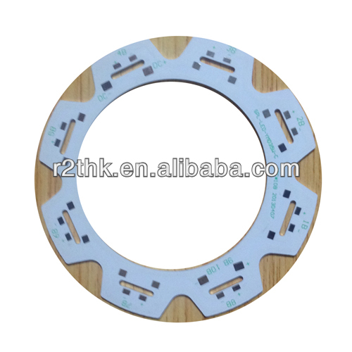 UL&RoHS LED light PCB design,OMD and ODM services 94v0 Aluminum Base smd 5630 2835 3014 5050 ring pcb led
