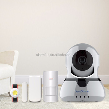 Wireless HD IP WIFI Camera with Alarm function support 64 wireless sensors