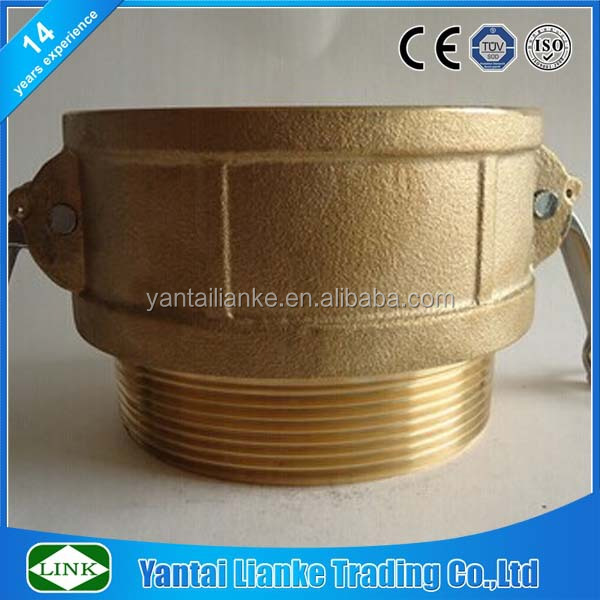 brass male and female pipe threaded end coupling socket