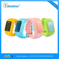 China shenzhen latest smart watch mobile phone for kids wrist hidden gps tracker