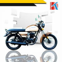 Simple style hot selling 1250mm Wheel Base old model motorcycle