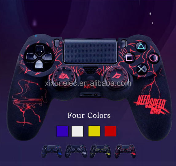 Protective Silicone Case for PS4 Controller New Style