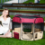 Pet Folding Pet outdoor playpen dog playpen baby portable playpen