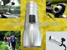 2013 extreme sports, IR flashlight dvr camera, motorbike dvr with night vision