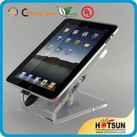Counter acrylic phone display stand for tablet PC
