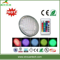 CE ROHS Approved thick glass material led rgb swimming pool light 12v