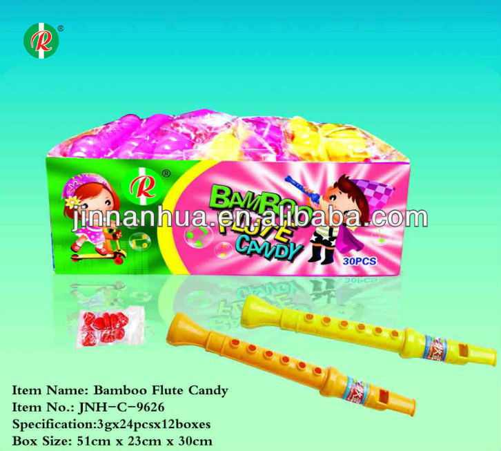 bamboo flute candy
