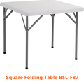 Plastic Square Folding Table Outdoor Picnic/Camping/Dining/Study Foldable Table