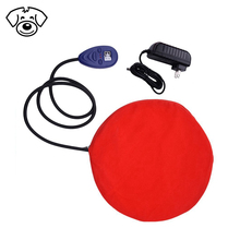 Pet dog heating pad round cat 12v electric heated bed puppy bed heater mat