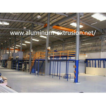 Aluminium Anodizing Machine for Metal Electroplating Treatment