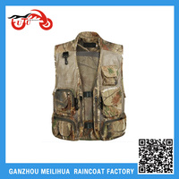 Mens Sleeveless Utility Multi Pocket Zip Hunting Fishing Shooting Hiking Outdoor Vest