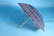 manufacturer China UV protection four fold manual 20inch umbrella