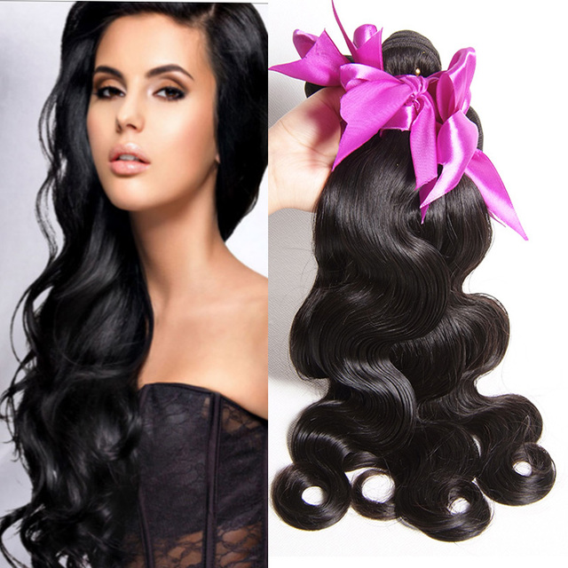 8A, 9A, 10A 100% unprocessed wholesale human hair weave, 100% virgin Peruvian remy hair body wave