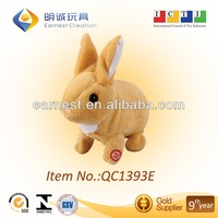 Funny plush toy in lovely rabbit design