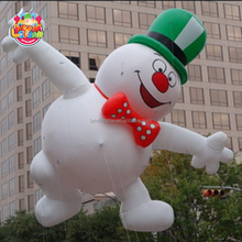 Custom large advertising helium parade advertising balloons inflatable flying cartoon