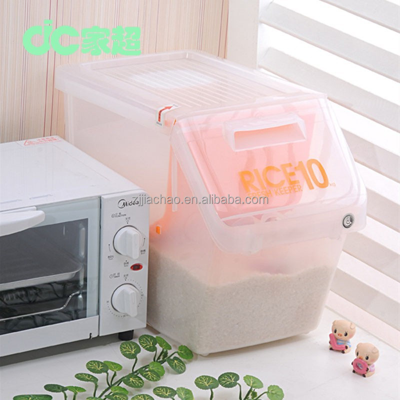 Food safe grade kitchen large rice bin storage