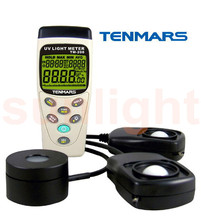 TM-208 Solar Power Meter, Solar Radiation/UVA /Light 3 in 1