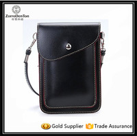 Mini Waterproof PU Leather Fashion Mobile Phone Bag Case Sling Bag Crossbody Bag