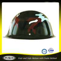 High quality military steel helmet traffic police motorcycle helmet
