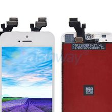 Mobile phone LCD for iphone 5 lcd assembly+ for apple iphone lcd display with touch screen replacement