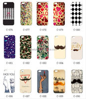Rubber coating glossy oil coating Water Transfer Print tpu soft phone case for iphone 5/5S/5C