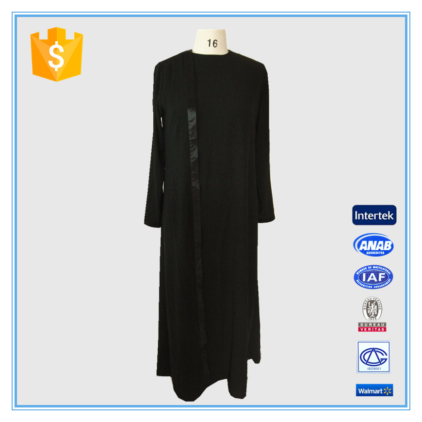 2016 Muslim New Designer Burqa Islamic Arabian Women Thobe For Business
