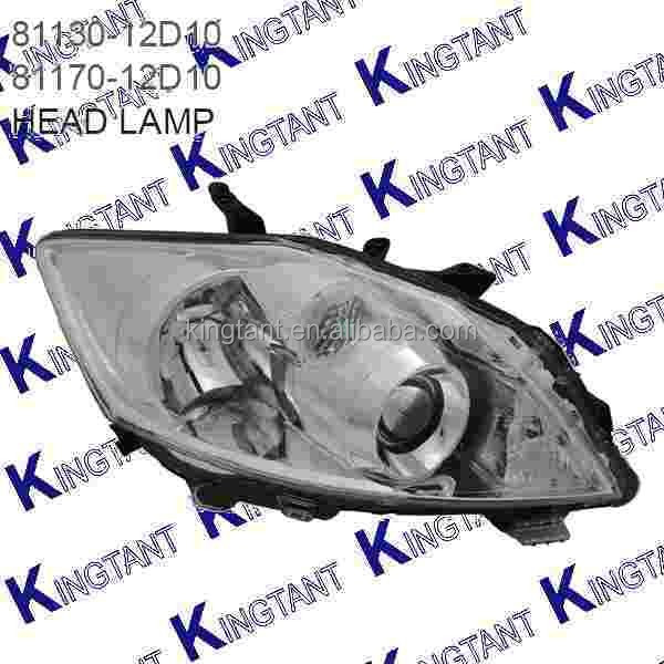 CAR HEAD LAMP FOR TOYOTA AURIS 2010-ON BLACK USED OR NEW