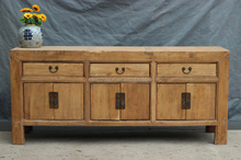 Chinese Antique Bleached Natural Cabinets