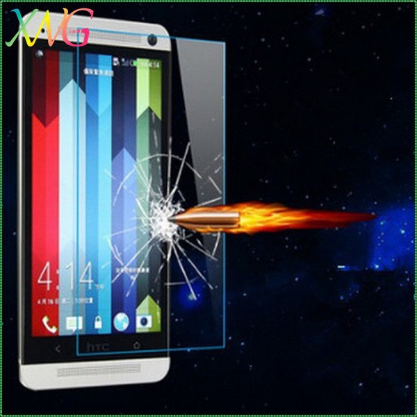 shine unbreakable anti-explosion film blue korea for htc butterfly s screen protector
