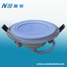 China manufacturer 9W High lumen round grass led ceiling panel light