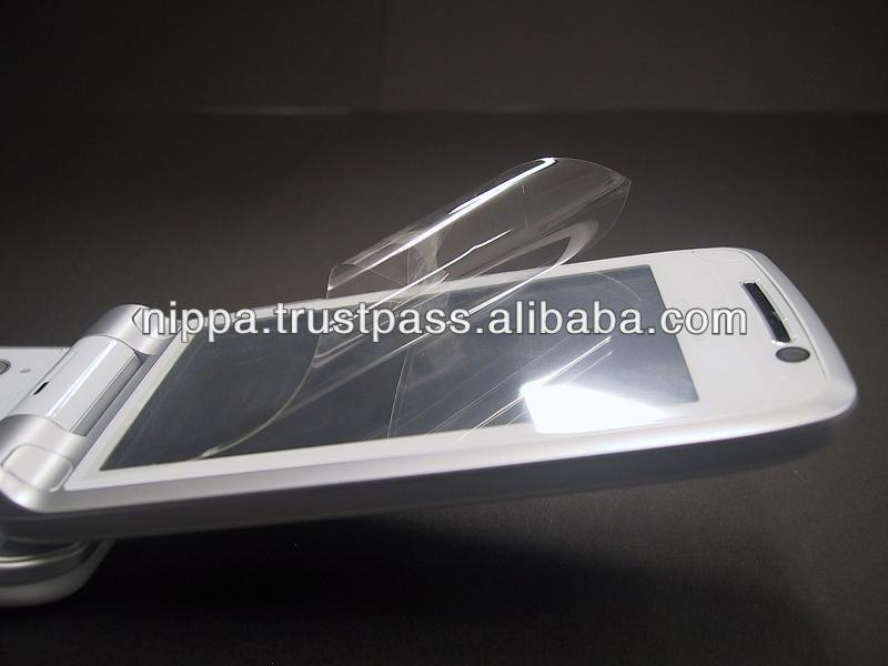 "Protection film for 5"" screen mobile phones"