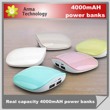 cute shell style Power Bank 3000mAh,Portable Power Source,Gift Portable Charger For Cell Phone,MP3,Tablet PC