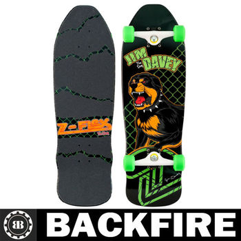 Backfire Z-BOYS ANIMAL THE DOG free board skateboard COMPLETE - CLEARANCE - FREE DELIVERY