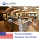 USA. Cosmopolitan Marketplace Kitchen Project from Shinelong