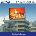energy saving vivid image pitch 10mm full color advertising Outdoor LED Display with Energy Saving 50%