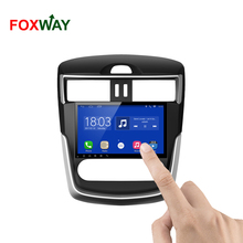 FOXWAY factory android car dvd player for Nissan Tiida with audio radio multimedia gps navigation system