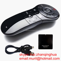 High Quality Black 12 Buttons An-Mr 400 Magic REMOTE CONTROL for LG TV in Special Shape Google Rem5 with data line cable USB int