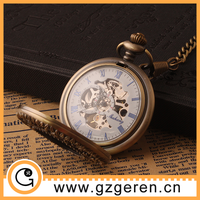 New arrival 2015 antique erotic mechanical pocket watch, automatic watch