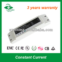 24vdc constant current led driver 1000ma close frame 3 years warranty led power supply shenzhen