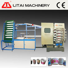 Plastic Cup Printer 6 color cup printing machine