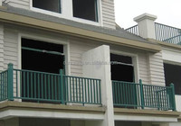2015 Wrought steel balcony fence design