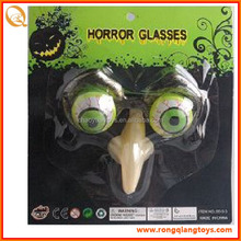 hot sell skeleton plastic glasses with eyeball OT3689Y5513-4