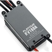 Hobbywing Platinum 160A V4 Brushless Electric Speed Controller/ESC for Aircrafts High Voltage ESC
