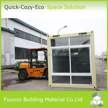 Two-story Convenient Transportation Latest Design Glass Wall Cabins