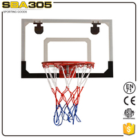 kids basketball ring and board for door