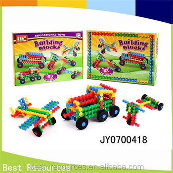 2016 Hot Sale Bamboo Toys Blocks for Kids Colorful Building Block Set Educational Block for Kids