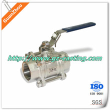 "OEM stainless casting service Flanged Ball Valve, ANSI Class 150, Standard Port, 1-1/2"" ~ 6"""