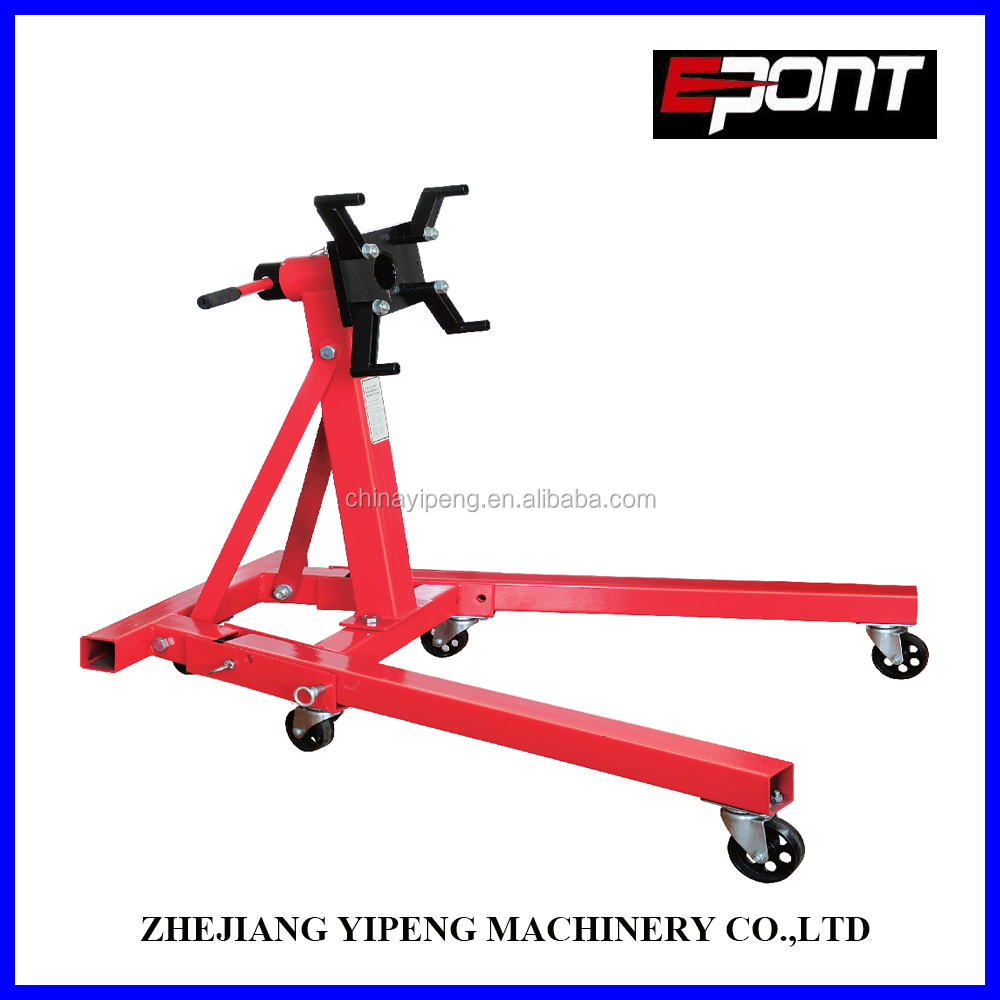 High Quality 2000LB Adjustable Rotating Mobile Hydraulic Car Engine Stand