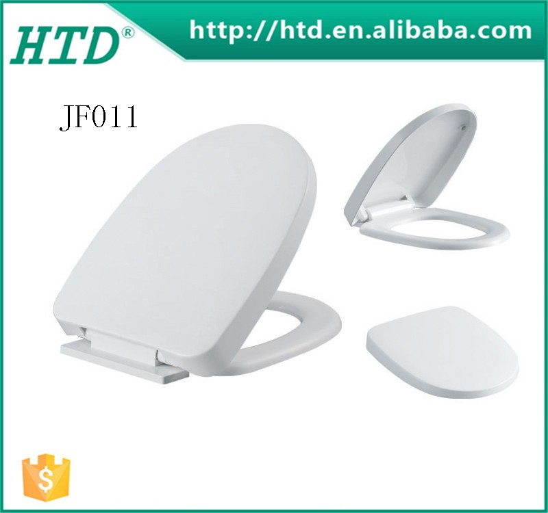 Competitive Price Elongated Durable PP Raised Toilet Seat