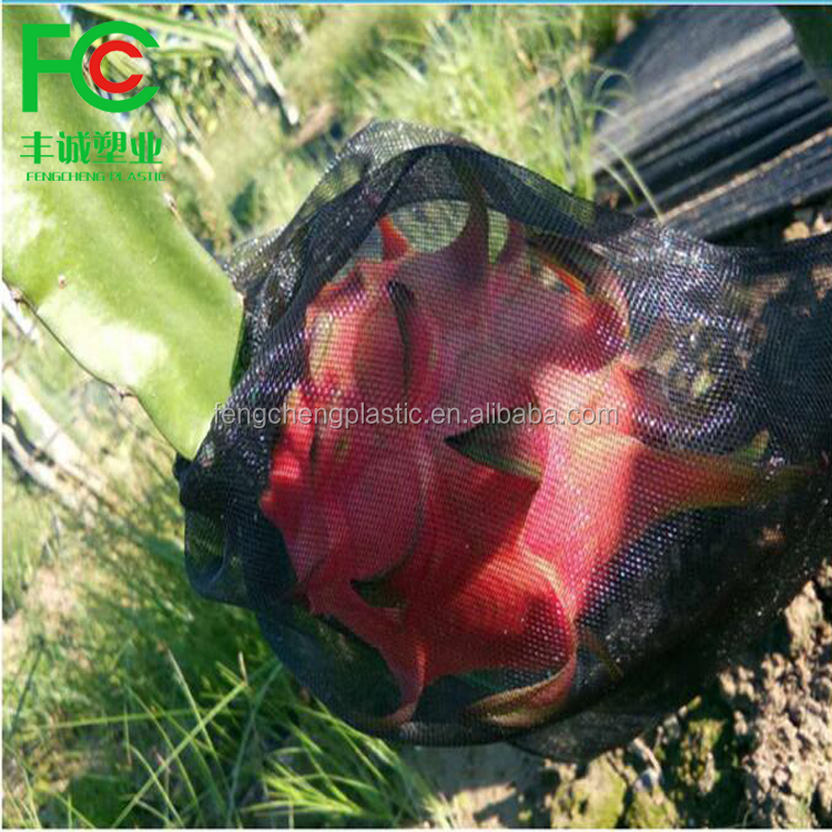 Custom large size white mesh bags/best transparent drawstring insect net bag supplier